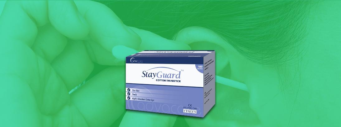 StayGuard Skin & Wound Care Cotton Swabsticks Usage