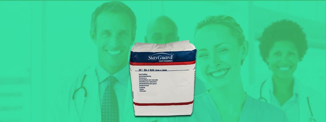 StayGuard Skin & Wound Care Cast Padding Usage