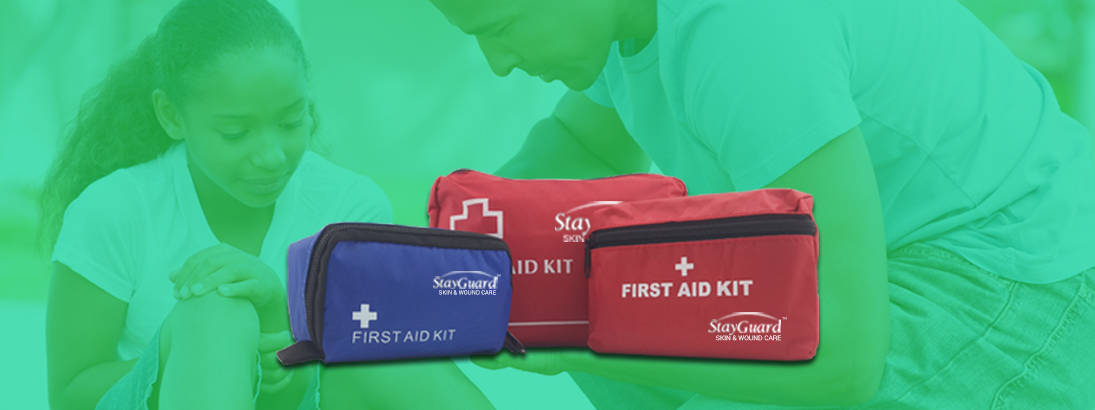 StayGuard Skin & Wound Care First Aid Kits Usage