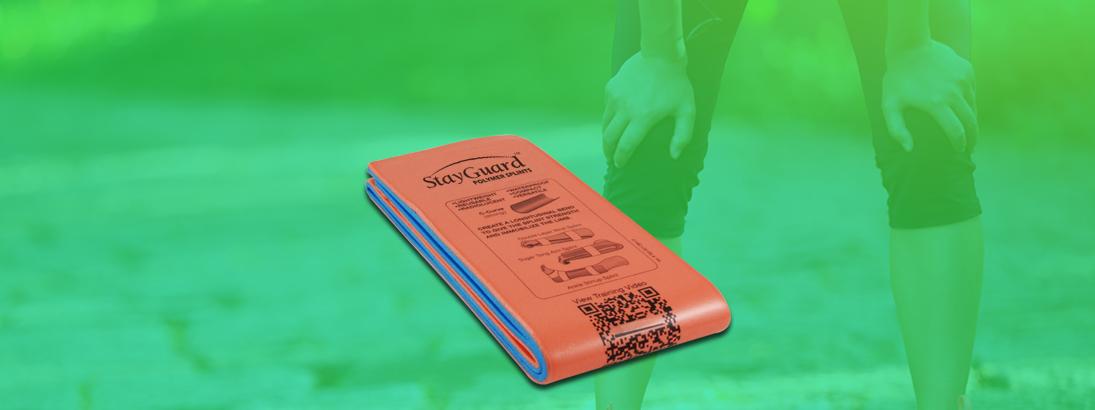 StayGuard Skin & Wound Care Polymer Splints Usage