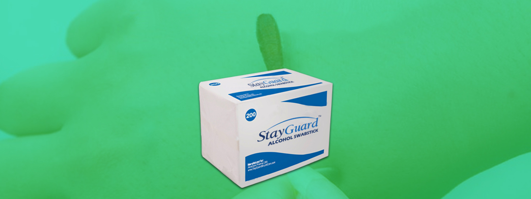 StayGuard Skin & Wound Care Alcohol Swabsticks Usage