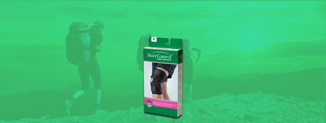 StayGuard Skin & Wound Care Knee Supports Usage