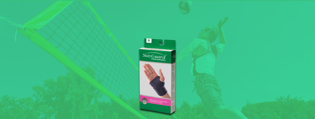 StayGuard Skin & Wound Care Palm Supports Usage